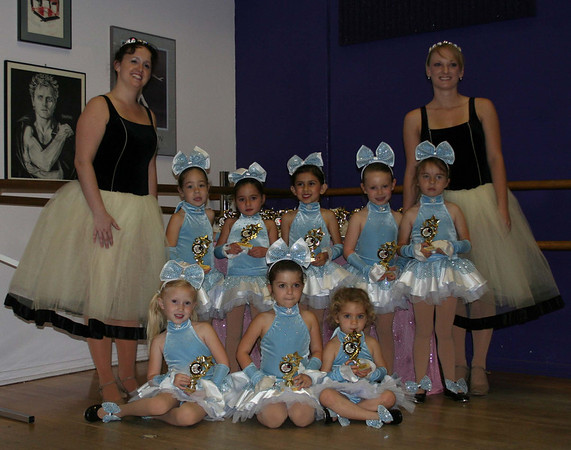 Emily's last day of dance class