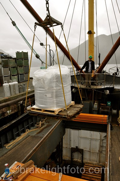 Loading Cargo in Gold River