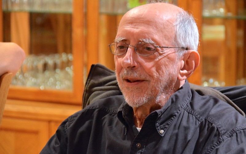 The grand statesman of the community, Fr. Bob Bossie