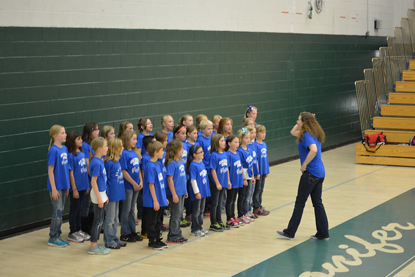Elk Creek Elementary choir performance at CHS