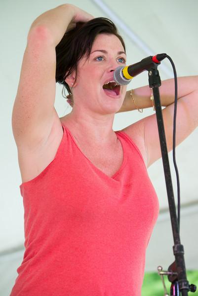Lisa Wenger--Lisa Wenger and the Mean Mean Men- Madelia Blues Fest 2014