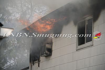 Copiague F.D. Working House Fire 10 Buchanan Ave 4-15-12