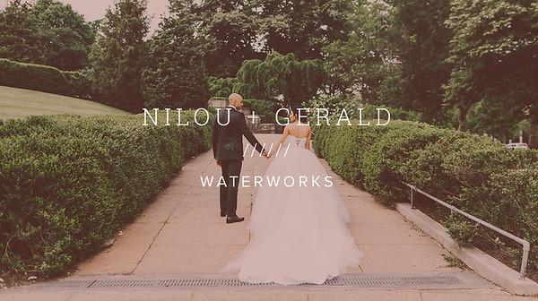 NILOU + GERALD ////// WATERWORKS