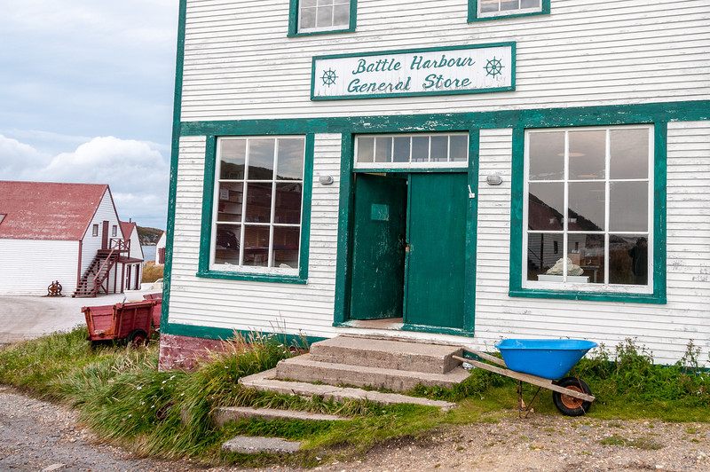 Battle Harbour General Store in Battle Harbour, Canada
