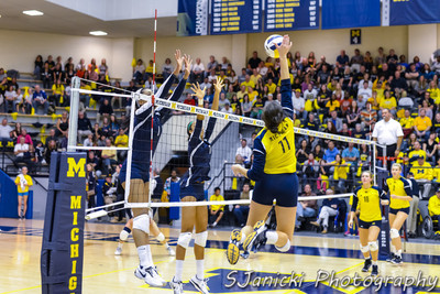 Michigan Volleyball Vs Penn St. 10-20-12