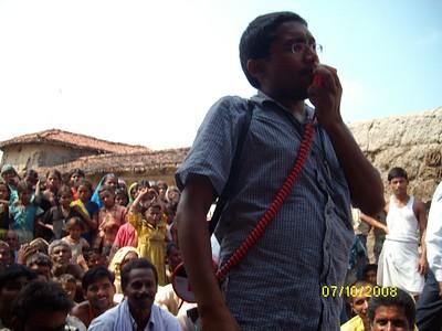 Gokul Social University Foot March 2008 - Vivek