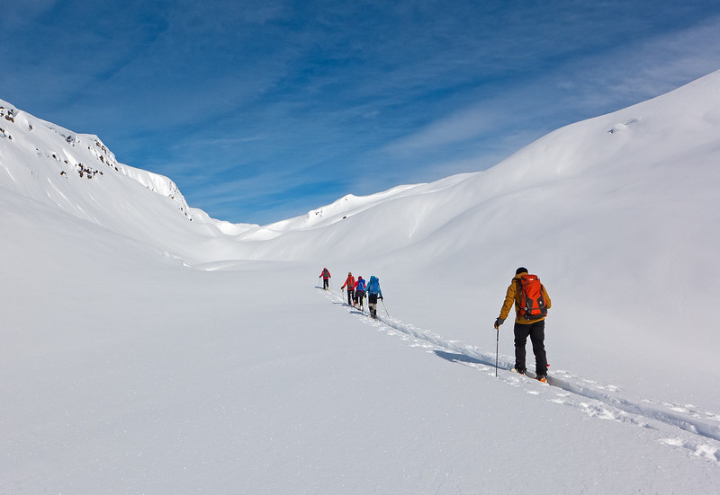 Onwards to the Campbell Icefield!