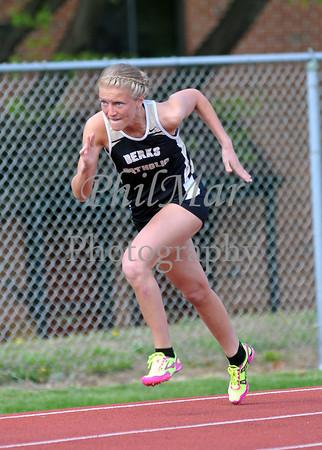 Berks Catholic vs Wyomissing High School Track 2012 - 2013