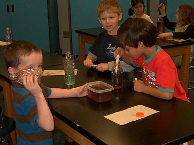 Mixing Colors in Science Lab
