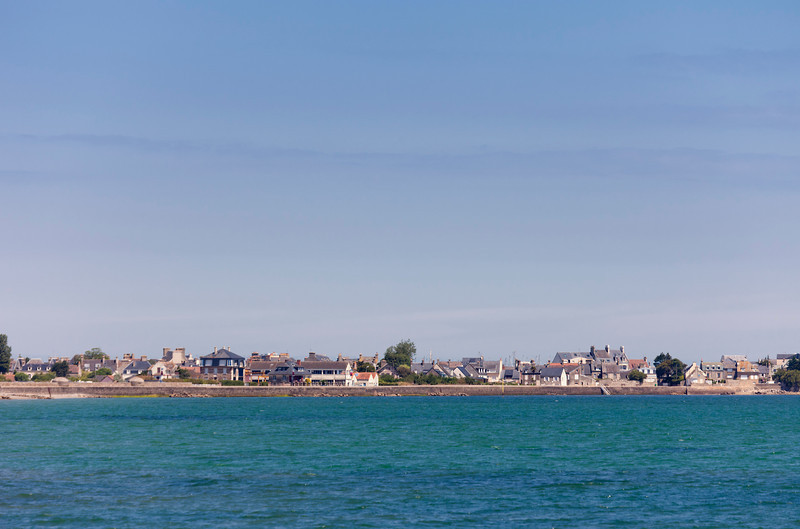 Cityscape of Saint-Vaast-la-Hougue - Basse Normandy, France