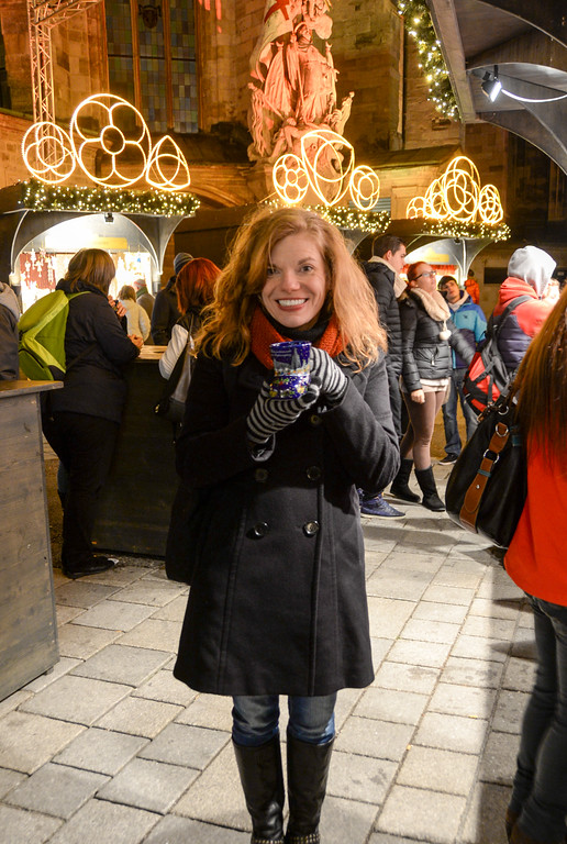 Mulled wine at Vienna's Stephensplatz Christmas market