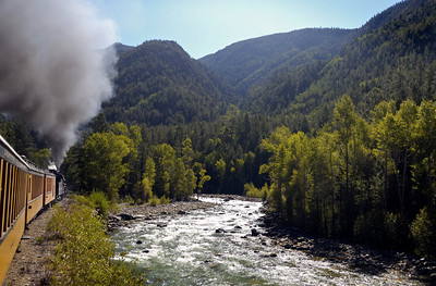 Colorado: Durango & Silverton Railroad, 2008