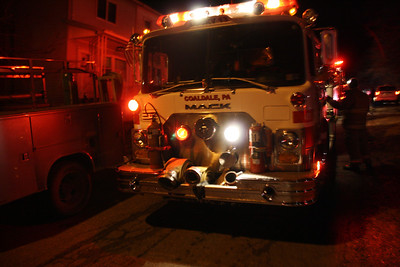 Smoke in Structure, East Ridge St, Coaldale (1-20-2012)