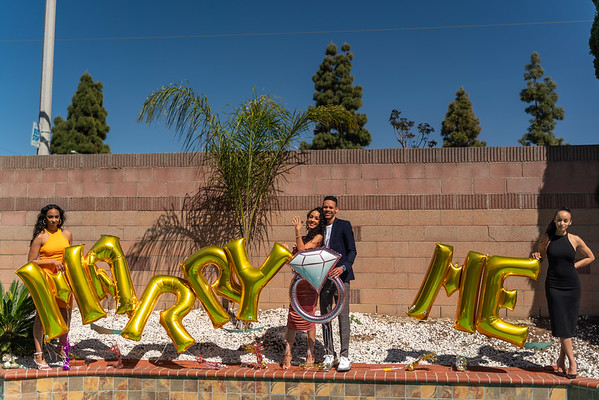 Abigail & Tessly - Proposal Photos