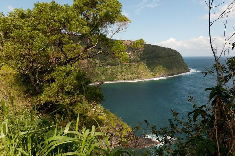 Coast view of the island of Maui, Hawaii