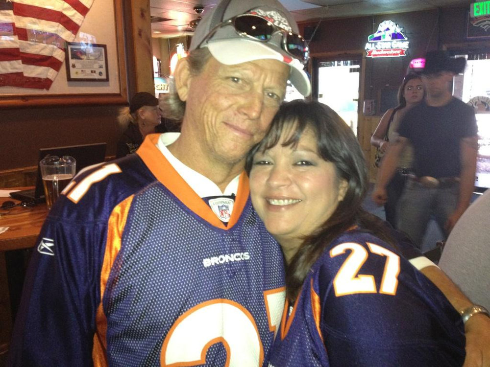 . Caption: Here We GO BRONCOS here we GO!! Marla Leckenby
