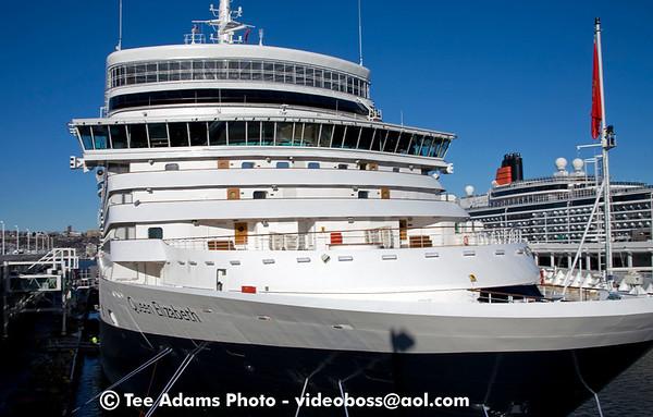 2011 Cunard ships NY 1-13 and trans