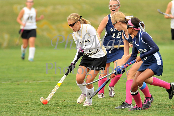 Berks Catholic vs Conrad Weiser High School Field Hockey 2013 - 2014