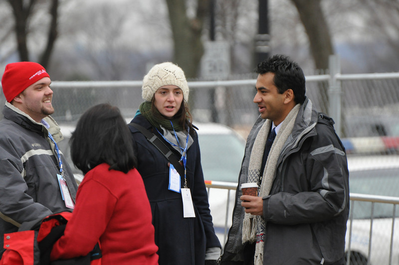 Kal Penn (might have spilled some hot cocco on him in the catering tent...opps.)