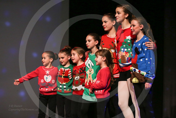 Assorted 2015 Christmas Recital Photos