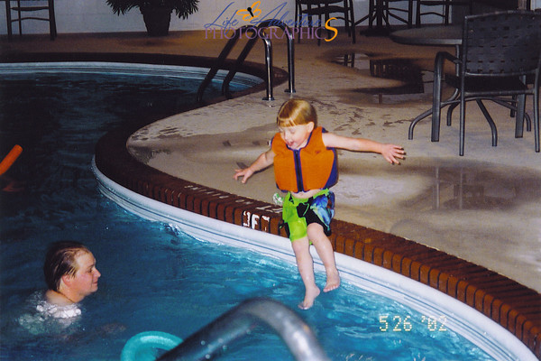 Swimming May 2002
