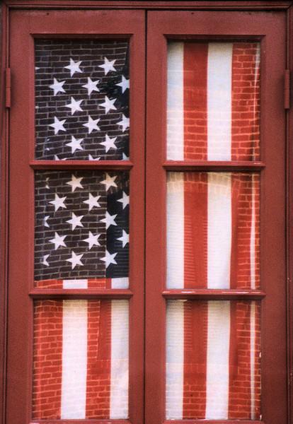 'Patriotic Drape',    Harmony, CA