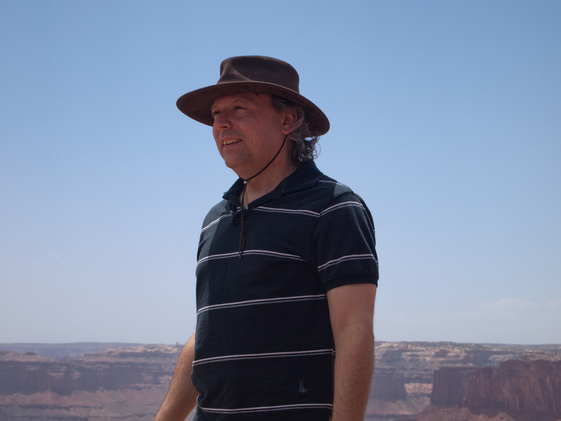 Roger at Dead Horse Point