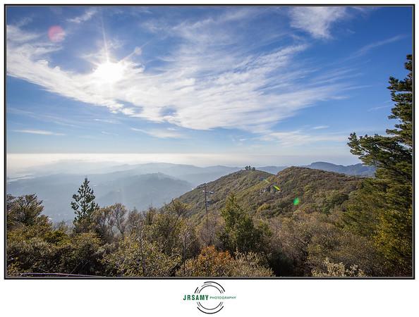 Hiking Mt Tamalpais-01-16-17