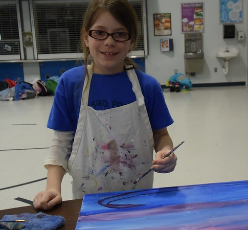 Pollard PTA Painting Party