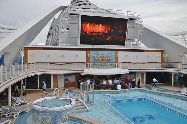 On Board Caribbean Princess