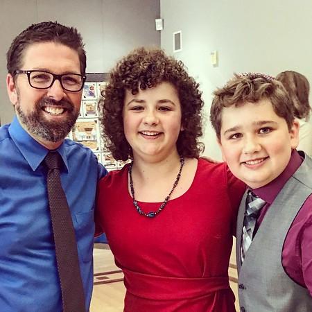 Will and Aubrey Brosnan B'Nai Mitzvah | OCTOBER 21ST, 2017