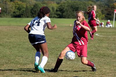 9/23/15: Girls' JV Soccer vs Hotchkiss