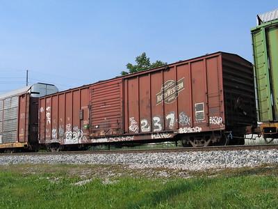 CNW Boxcars
