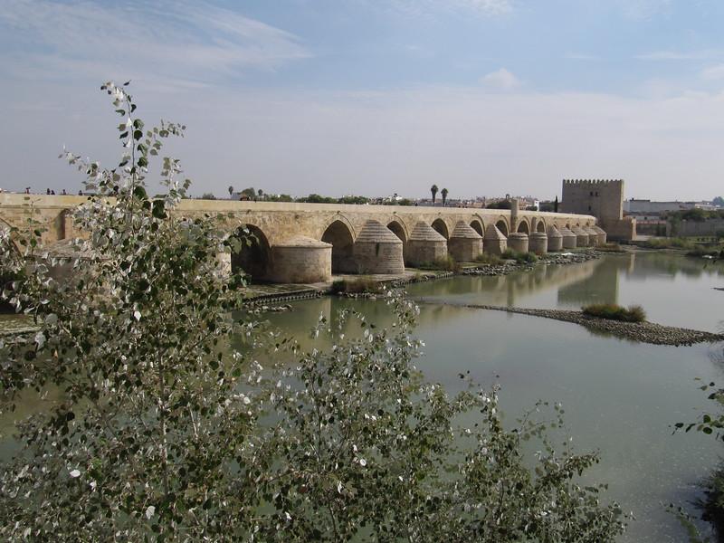 Roman bridge over Rio Guadalquivir,