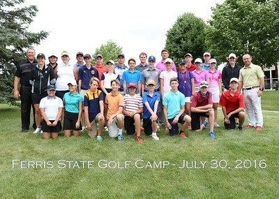 Ferris State Golf Camps