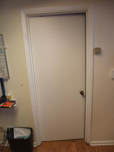 ss door and closet