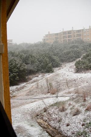 Snow in Austin - February 23, 2010