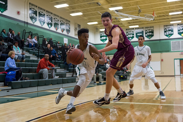 1/18/17 - Atholton Varsity Basketball vs Hammond