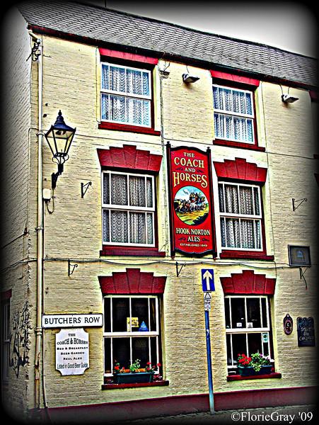 Pub on Butcher's Row, Banbury