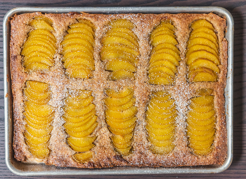 Frangipane Tart with Pluots