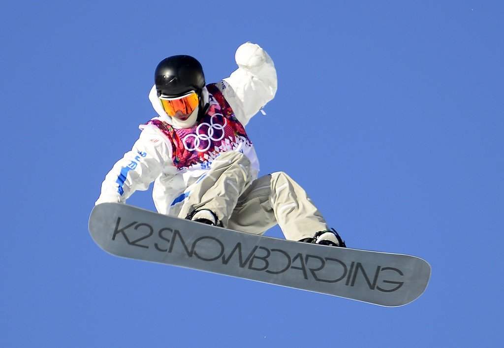 . Sweden\'s Niklas Mattsson competes in the Men\'s Snowboard Slopestyle qualification at the Rosa Khutor Extreme Park during the Sochi Winter Olympics on February 6, 2014. AFP PHOTO / JAVIER SORIANO/AFP/Getty Images