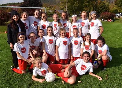 Meet The LTS M.S. Girls Soccer Team photos by Gary Baker