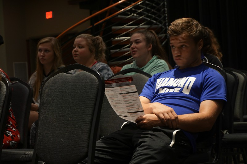 Some students were able to attend this Monday Matters event for class credit.