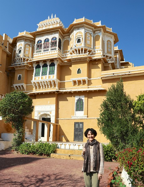 Deogarh Mahal (Palace) The whole top floor is our room!