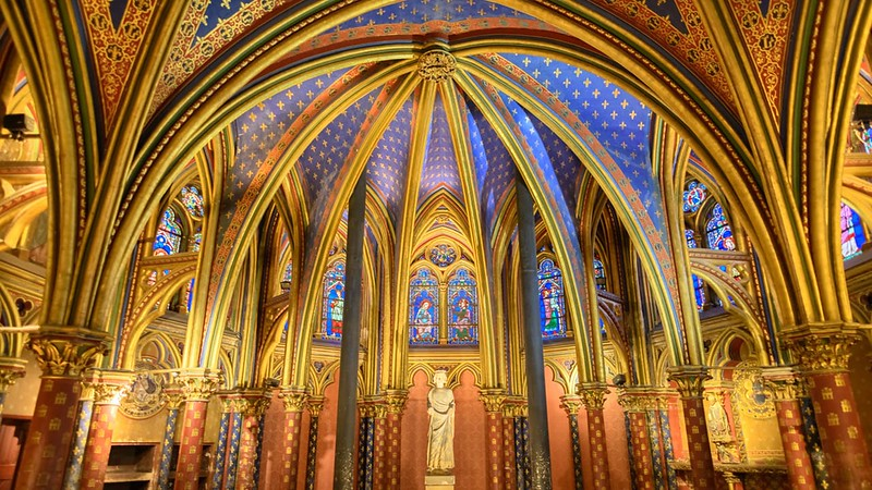 Sainte-Chapelle's Lower Chapel