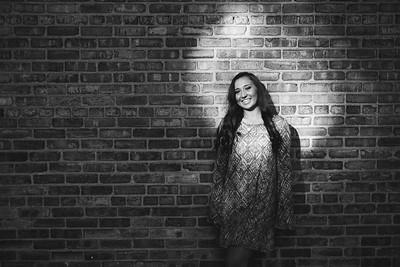 Britton Senior Photos | Downtown Rockford