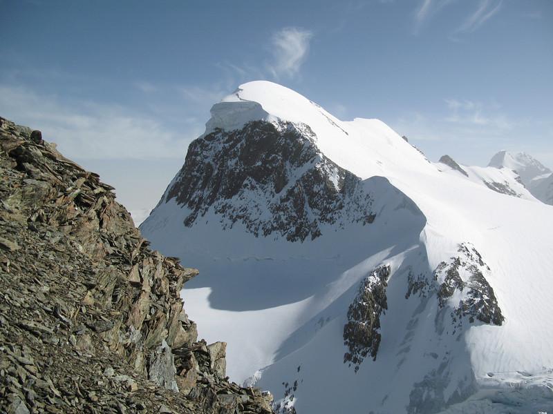 The Breithorn 4000m summit.