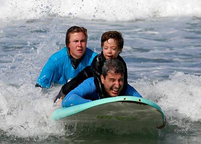 2017_09_23 Surf Camp 13 Boy Brown Hair WS Black w White