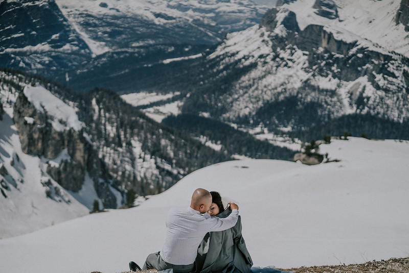 A + T | Adventurous Elopement in the Dolomites & Venice