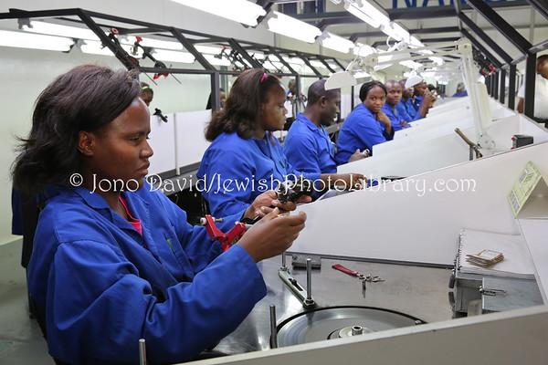 NAMIBIA, Windhoek. NamCot Diamonds Ltd (Israeli managed) (2.2013)